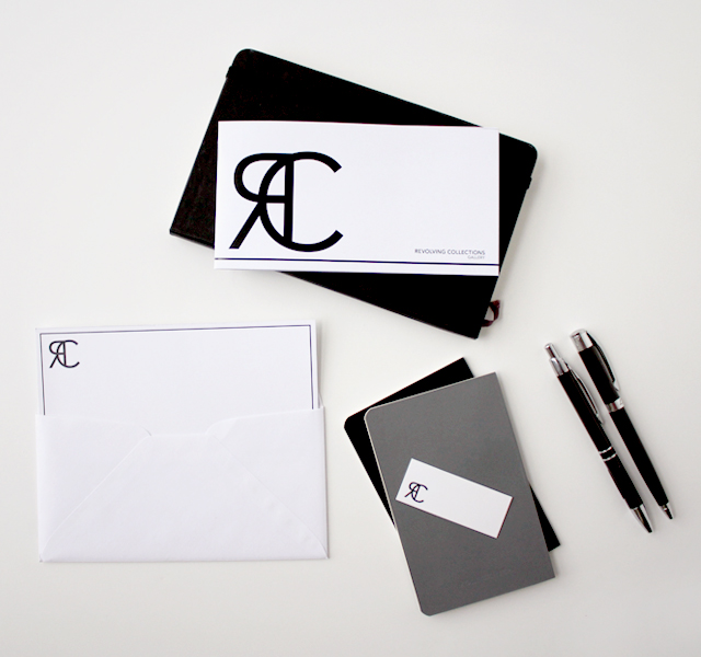Revolving Collections Gallery Stationery Set / by hello belle studio